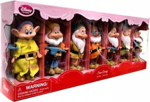 Disney Snow White Seven Dwarfs Exclusive 11.5-Inch Doll Set