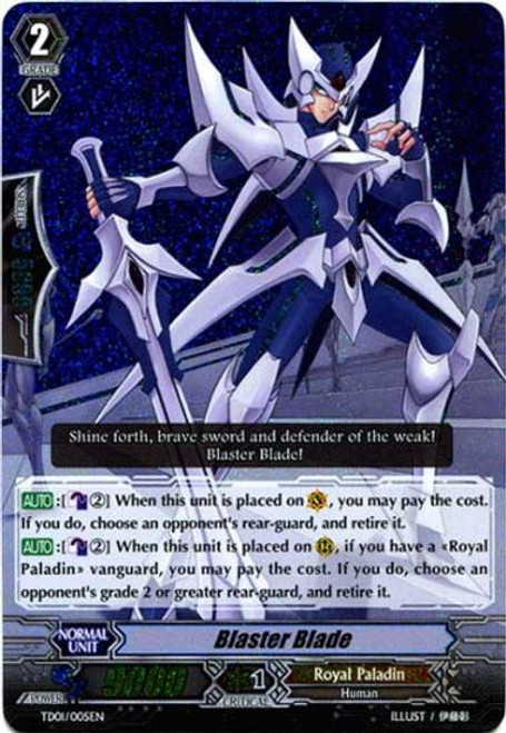 Cardfight Vanguard Blaster Blade Trial Deck Fixed Blaster Blade TD01/005