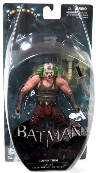 Batman Arkham City Series 3 Clown Thug Action Figure [Green Hair]