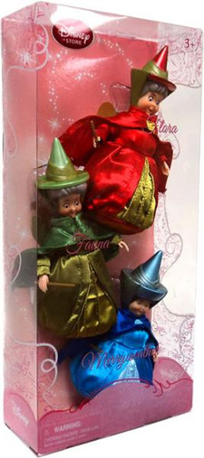 Disney Princess Sleeping Beauty Fairy Godmother Exclusive Doll Set