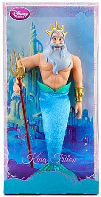 Disney The Little Mermaid King Triton Exclusive 12-Inch Doll