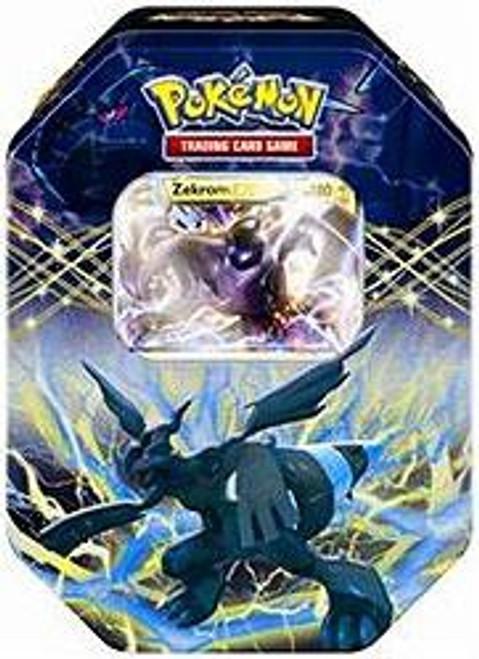Pokemon Black & White Spring 2012 EX Zekrom Collector Tin