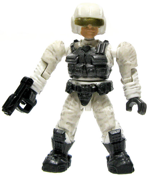 Mega Bloks Halo Loose Marine Pilot 2-Inch Minifigure [White Loose]