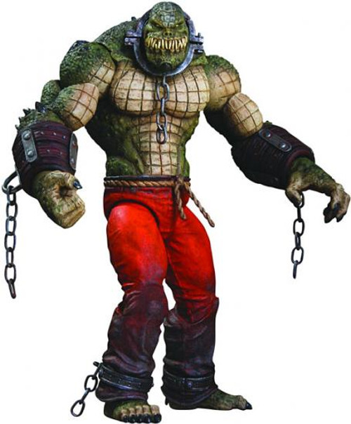 Batman Arkham City Deluxe Killer Croc Action Figure