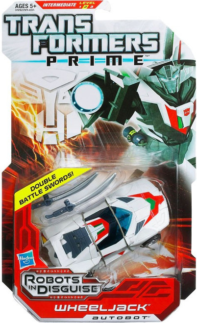 Transformers Prime Robots in Disguise Wheeljack Deluxe Action Figure