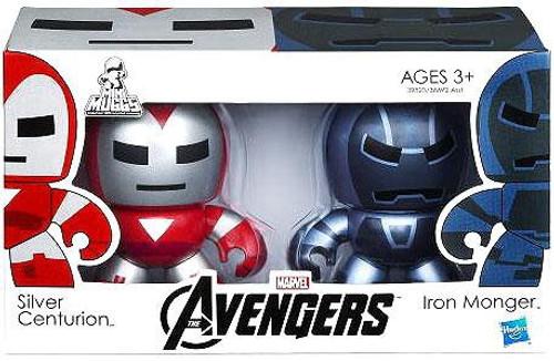 Marvel Avengers Mini Muggs Silver Centurion & Iron Monger Vinyl Figure 2-Pack