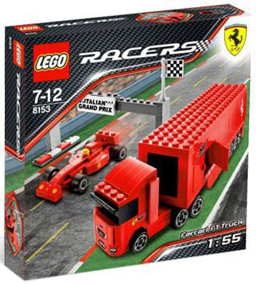 LEGO Racers Ferrari F1 Truck Set #8153