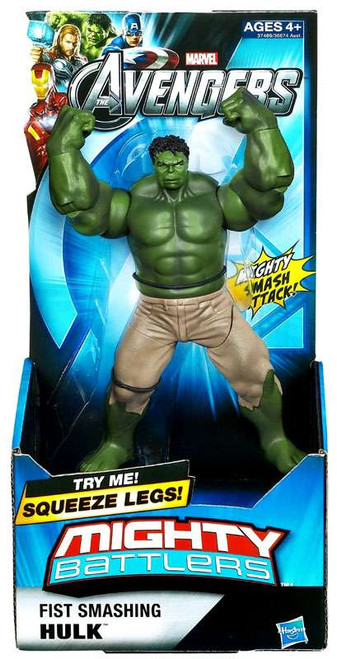 Marvel Avengers Mighty Battlers Fist Smashing Hulk Action Figure