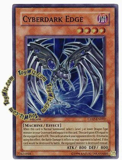 YuGiOh GX Cyberdark Impact Super Rare Cyberdark Edge CDIP-EN002