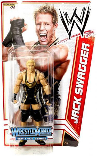 WWE Wrestling Series 16 Jack Swagger Action Figure #24