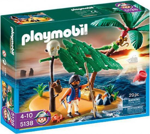 Playmobil Pirates Cast Away on Palm Island Set #5138