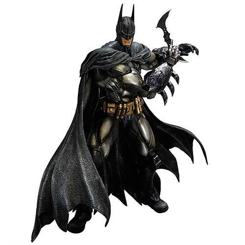 Arkham Asylum Play Arts Kai Armored Batman Action Figure