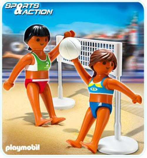 Playmobil High-Performance Athletes Beach Volleyball with Net Set #5188