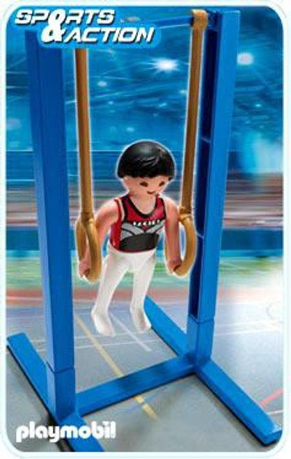 Playmobil High-Performance Athletes Gymnast on Rings Set #5189