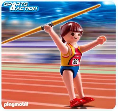 Playmobil High-Performance Athletes Javelin Thrower Set #5201