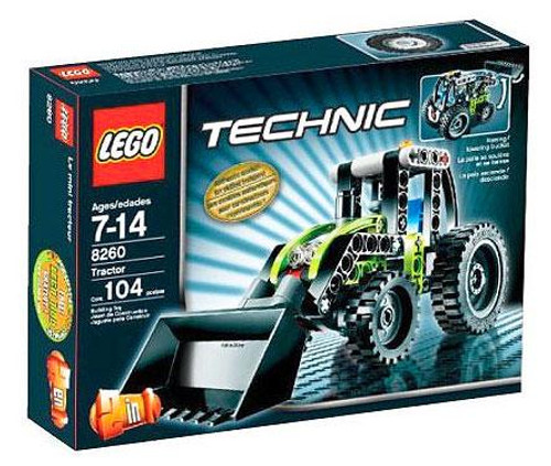 LEGO Technic Tractor Set #8260 [Damaged Package]