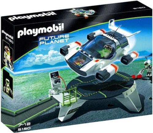 Playmobil Future Planet E-Rangers Turbojet with Launch Pad Set #5150