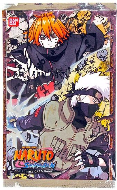 Naruto Shippuden Card Game Invasion Booster Pack