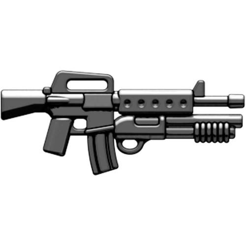 BrickArms Weapons M16-DBR Masterkey 2.5-Inch [Black]