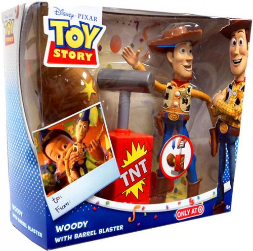 Toy Story Woody Exclusive Action Figure [With Barrel Blaster]