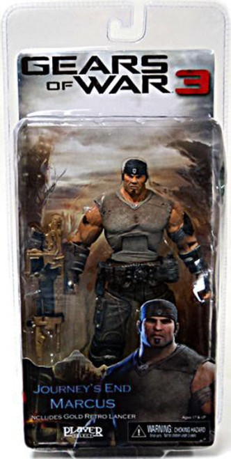 NECA Gears of War 3 Series 3 Marcus Fenix Action Figure [Journey's End]