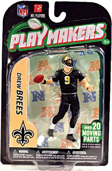 McFarlane Toys NFL New Orleans Saints Playmakers Series 3 Drew Brees Action Figure