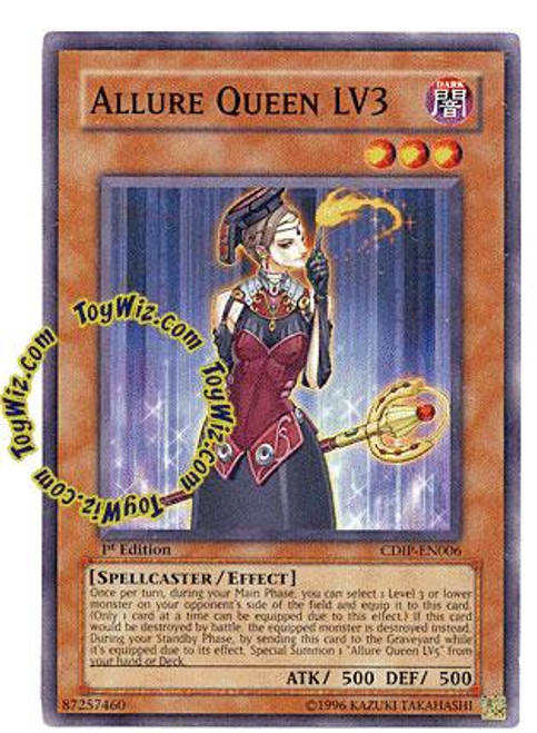 YuGiOh GX Cyberdark Impact Common Allure Queen LV3 CDIP-EN006