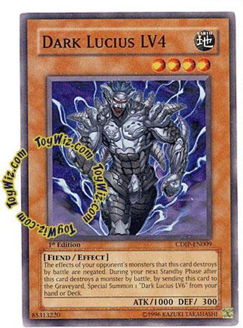 YuGiOh GX Cyberdark Impact Common Dark Lucius LV4 CDIP-EN009