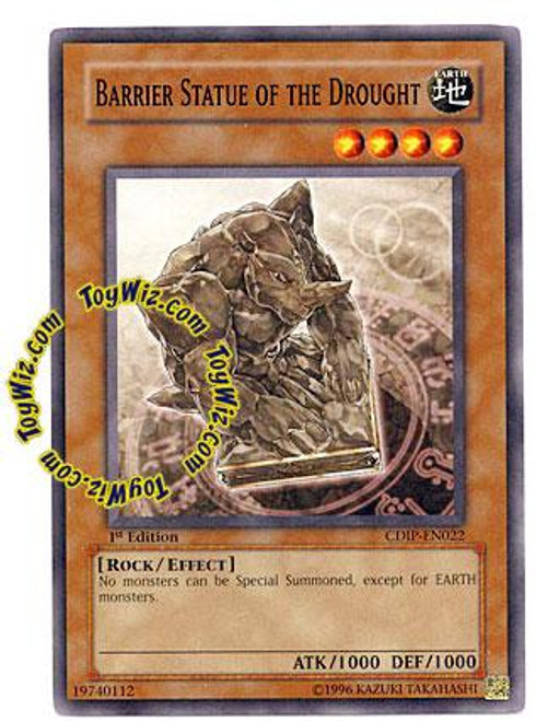 YuGiOh GX Cyberdark Impact Common Barrier Statue of the Drought CDIP-EN022