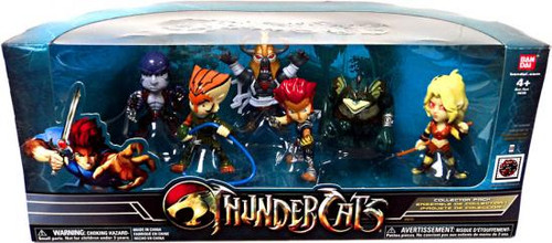 Super Deformed Thundercats Figure 6-Pack