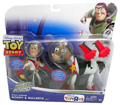 Toy Story To Infinity and Beyond Space Mission Woody & Bullseye Exclusive Action Figure 2-Pack