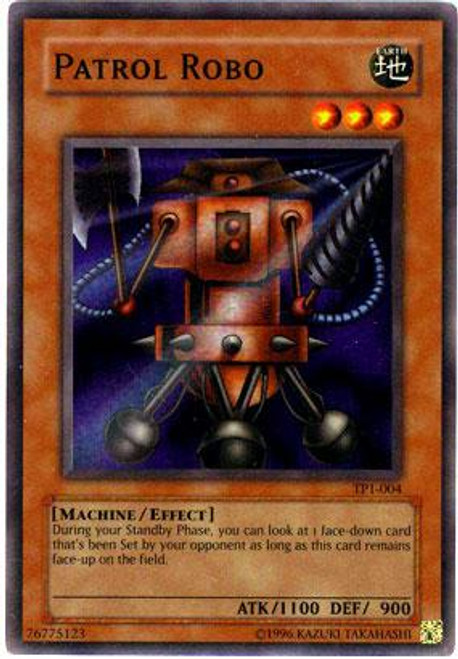YuGiOh Tournament Pack 1 Super Rare Patrol Robo TP1-004