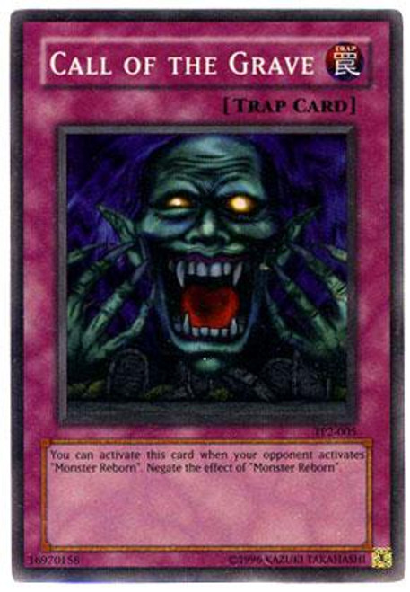 YuGiOh Tournament Pack 2 Super Rare Call of the Grave TP2-005