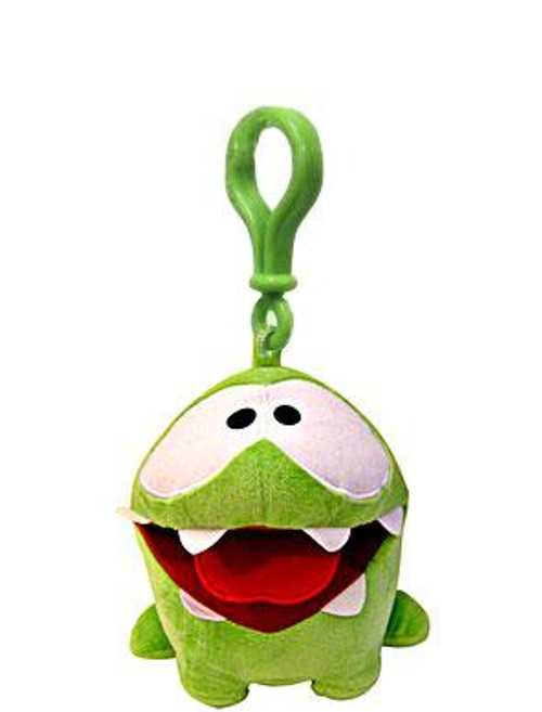 Cut the Rope Om Nom Plush Clip On [Hungry]