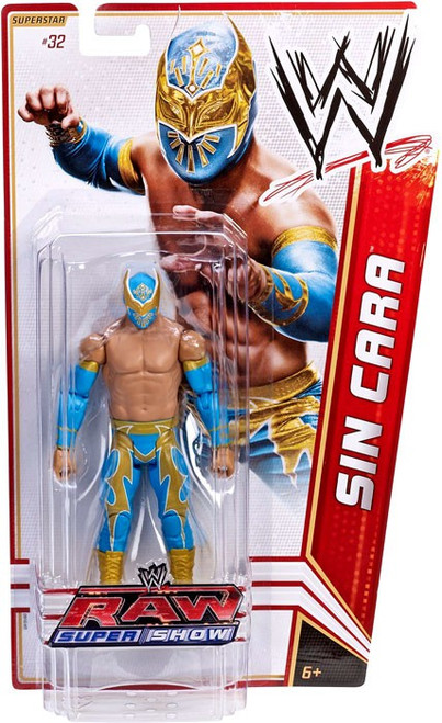 WWE Wrestling Series 18 Sin Cara Action Figure #32