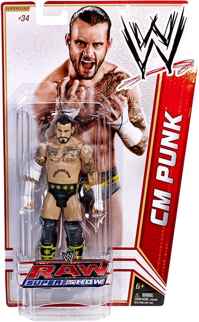 WWE Wrestling Series 18 CM Punk Action Figure #34