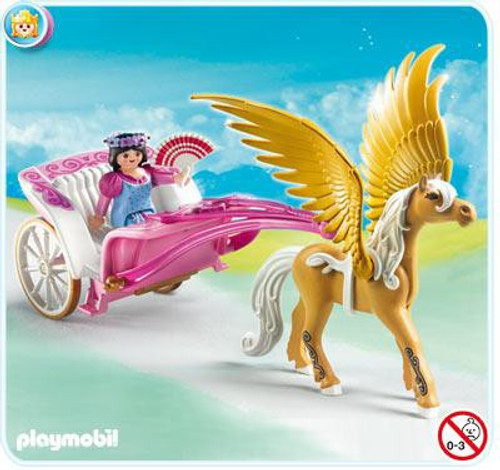 Playmobil Magic Castle Princess with Pegasus Carriage Set #5143