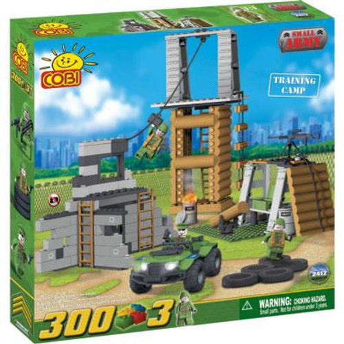COBI Blocks Small Army Training Camp Set #2412