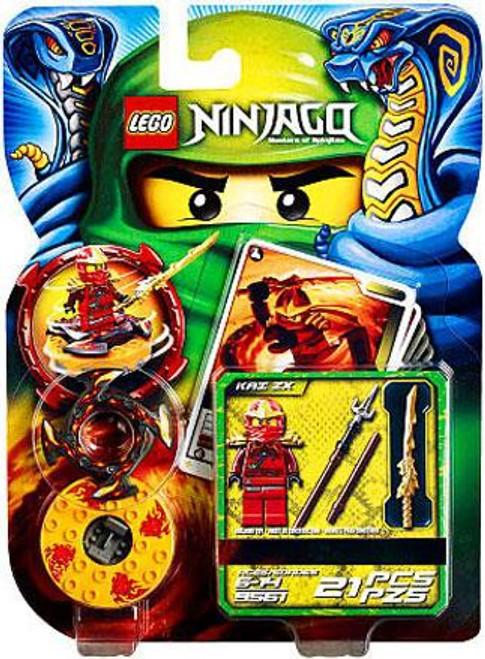 LEGO Ninjago Spinjitzu Spinners Kai ZX Set #9561