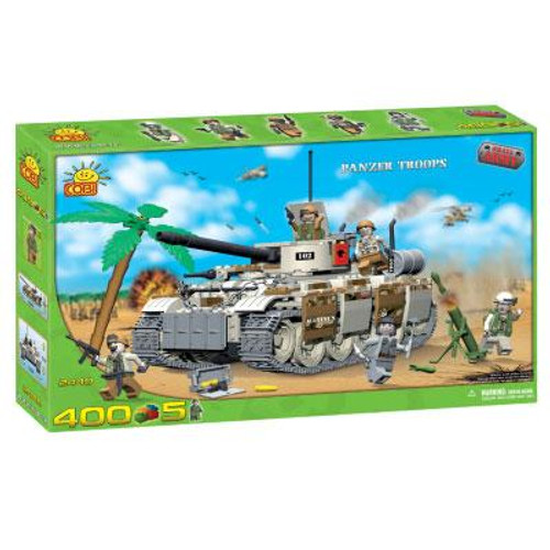 COBI Blocks Small Army Panzer Troops Set #2440