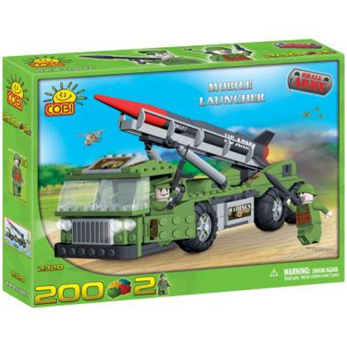 COBI Blocks Small Army Mobile Launcher Set #2320