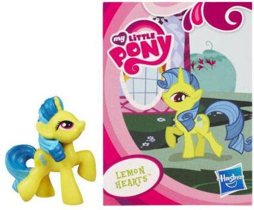 My Little Pony Series 1 Lemon Hearts 2-Inch PVC Figure