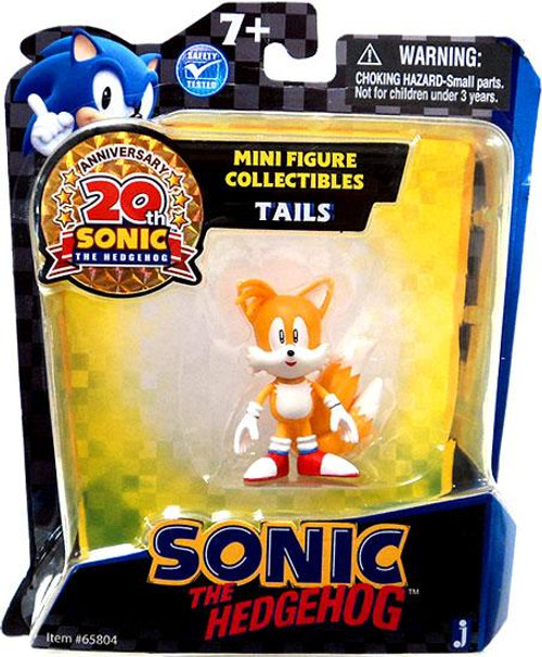 Sonic The Hedgehog 20th Anniversary Tails Mini Figure
