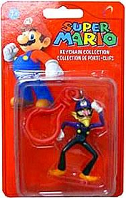Super Mario Keychain Collection Series 2 Waluigi 2-Inch Keychain