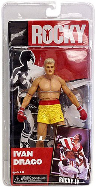 NECA Rocky IV Series 2 Ivan Drago Action Figure [Pre Fight]