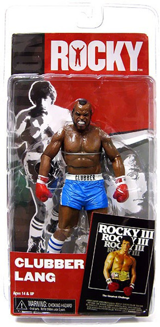 NECA Rocky III Series 3 Clubber Lang Action Figure [Blue Trunks]