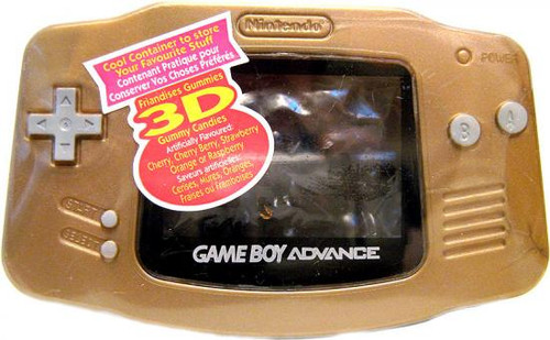 Nintendo Gameboy Advance Candy [Gold]