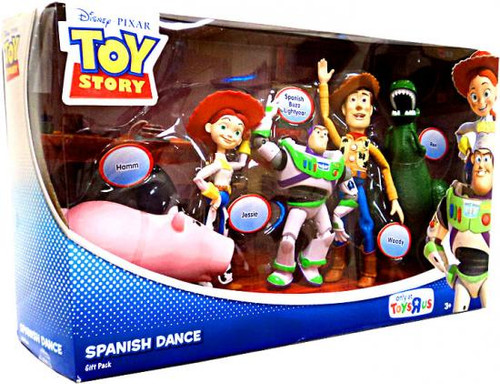 Toy Story Spanish Dance Exclusive Action Figure Set