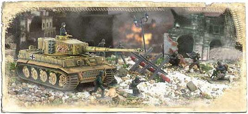 Forces of Valor Battle Extreme Series German Tiger I & Soliders 1/7
