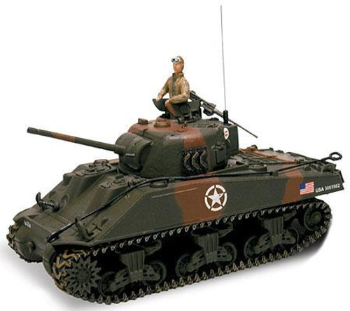 Forces of Valor Action Series U.S. M4A3 Sherman Tank